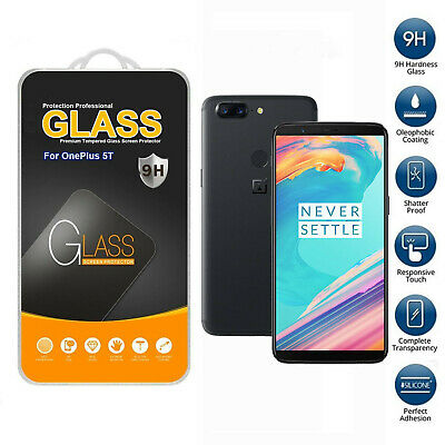 AU9.78 • Buy Tempered Glass Mobile Phone Screen Protector For OnePlus 5t