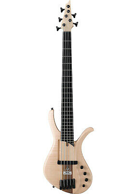 $ CDN2252.24 • Buy Ibanez AFR5FMP-NTF (Natural) 5-string Premium Affirma AFR-5 Electric Bass Guitar