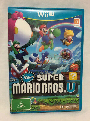 AU26 • Buy New Super Mario Bros. U Nintendo Wii U Aus Stock