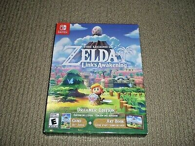 NEW SEALED Legend Of Zelda Link's Awakening DREAMER EDITION Nintendo Switch Game • 75.95$