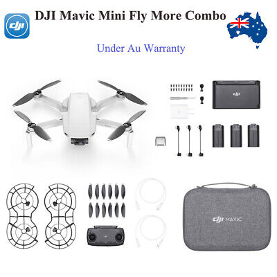 AU799 • Buy AU Stock! DJI Mavic Mini Fly More Combo Ultralight 3-Axis Gimbal 2.7K Camera