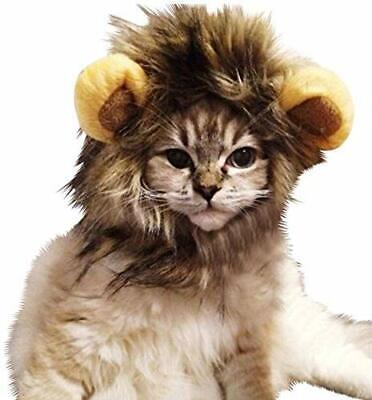 £6.90 • Buy  Uk Seller  Cat Lion Mane Wig Hair Clothes Costume Funny Dress Up Christmas