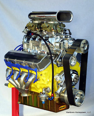 540ci Big Block Chevy Blown Pro-Street Engine 1,000hp+ Built-To-Order Dyno Tuned • 19,799.95$