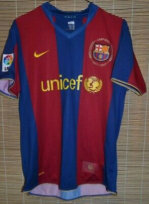 £21.78 • Buy Barcelona Spain Home 2007 2008 Shirt Jersey Maglia Thierry Henry Size M