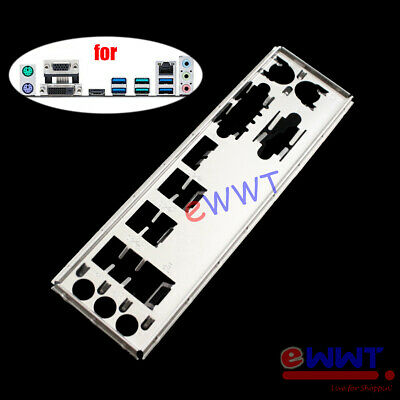 AU7.29 • Buy For Asus Prime B350M-A Motherboard IO Shield Back Panel Port Plate Cover ZVOP219