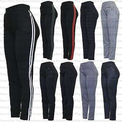 £9.99 • Buy New Ladies High Waist Plus Check Size Skinny Fit Womens Stretch Jeggings Trouser