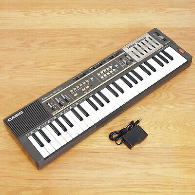 $69.95 • Buy Casio MT-100 Casiotone Keyboard Synthesizer Graphic Equalizer NO Battery Door