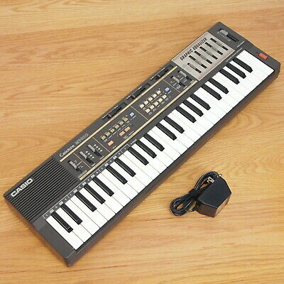 $79.95 • Buy Casio MT-100 Casiotone Keyboard Synthesizer Graphic Equalizer, AC Adapter - Nice