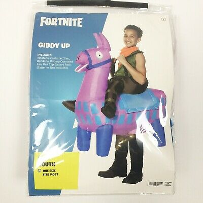 $ CDN39.67 • Buy Fortnite Kids/Youth Size Giddy Up Inflatable Costume