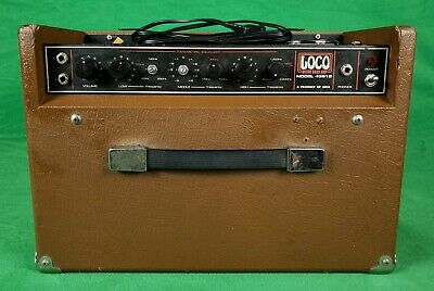$ CDN196.64 • Buy Vintage ARIA Loco Micro Bass Amp, 15  Speaker Model 4381B (Made In Japan)