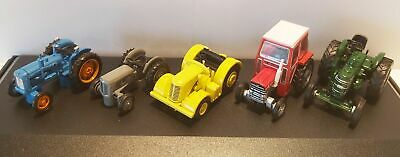 £34.95 • Buy Tractor 5 Piece Massey Fergie Fordson Marshall Diecast Model 1:76 Scale Oxford