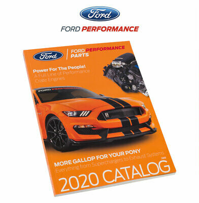 2020 Ford Performance Racing Parts Catalog Mustang F150 Truck Books 244 Pages • 8.95$