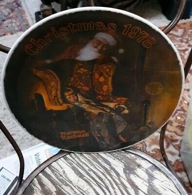 $ CDN16.99 • Buy  Norman Rockwell Christmas Dream Collector Plate Knowles Limited Edition 1978