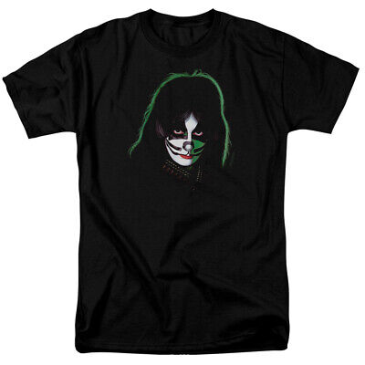$20.69 • Buy Kiss Peter Criss Cover T Shirt Licensed Hard Rock N Roll All Night Black