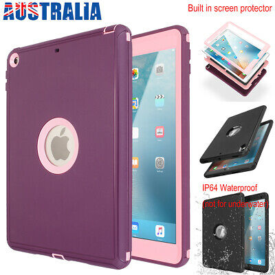 AU29.89 • Buy For IPad 5 6th Pro 9.7 10.5 Hybrid Shockproof Heavy Duty Waterproof Case Cover