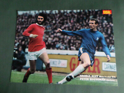 £2.99 • Buy George Best Man United - 1 Page Action Picture  - Clipping /cutting - #28