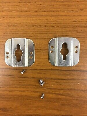 £4 • Buy Brother KH-555 Knitting Machine TABLE CLAMP BRACKETS X2 For Needle Bed