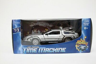 £21.99 • Buy Welly DeLorean DMC 12 From Back To The Future Part 2 In Silver 1:24 Scale BNIB