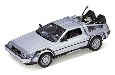 £21.99 • Buy Welly DeLorean DMC 12 From Back To The Future Part 1 In Silver. 1:24 Scale