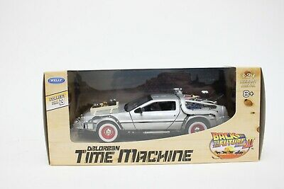 £21.99 • Buy Welly DeLorean DMC 12 From Back To The Future Part 3 In Silver 1:24 Scale BNIB