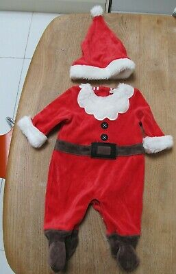 £8 • Buy John Lewis Baby Santa Claus Outfit Age 0-3 Months