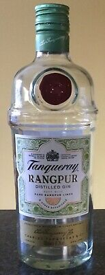 Tanqueray Rangpur Lime Gin - Empty Bottle - 70cl • 2£