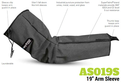 Hexarmor 19  Protective Arm Sleeve As019s Cut Puncture Protection Rrp£6 • 19.99£