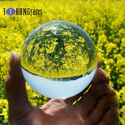 £3.15 • Buy Glass Crystal Ball Healing Sphere Photography Lensball Decoration 50-80MM ATF