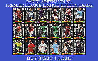 Panini Adrenalyn XL Premier League 2019/20 LIMITED EDITION GOLDEN BALLER CARDS • 6.95£