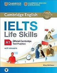 Ielts Life Skills Official Cambridge Test Practice A1 With Answers And Audio,... • 13.19£