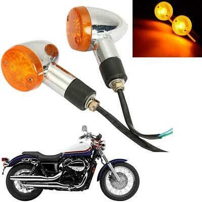 $13.99 • Buy Pair Turn Signals Fit For Suzuki Intruder Volusia VS 700 750 800 1400 1500 VL