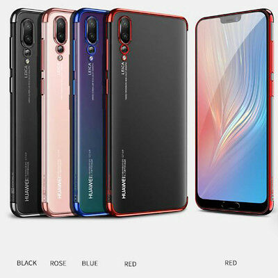 For Huawei P20 P30 Pro Lite Luxury Shockproof Plating Clear Phone Case Cover • 3.39£