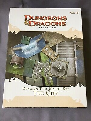 AU115 • Buy DUNGEONS DRAGONS CITY Boxed Master Tiles Set SEWERS D&d 4e RPG MAPS Miniatures