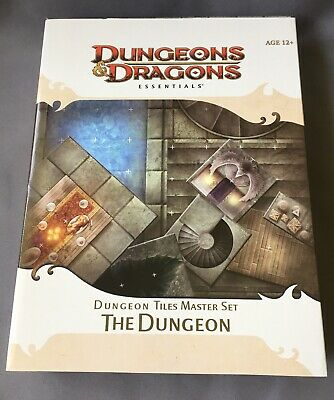 AU85 • Buy DUNGEON TILES MASTER SET Dungeons Dragons D&D Boxed Miniatures Game MAP 4e RPG