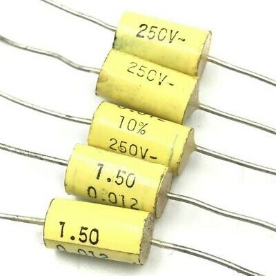 £1.67 • Buy 0.012uf 12nf 250v Axial Capacitor Arcotronics Qty:5