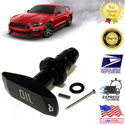 $12.72 • Buy 1999-2011 Black Billet Aluminum Oil Dipstick Handle Ford Mustang GT V8 GT500