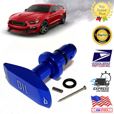 $12.72 • Buy 1999-2011 Blue Billet Aluminum Oil Dipstick Handle Ford Mustang GT V8 GT500