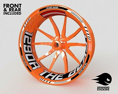 £54.81 • Buy Wheel Stickers For KTM Super Duke 1290 GT Rim Tape Motorcycle Decals Graphics