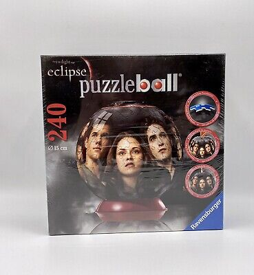 $14.97 • Buy Ravensburger 3D Puzzle Ball Twilight Saga Eclipse 240 Pieces 6 Inch New Sealed