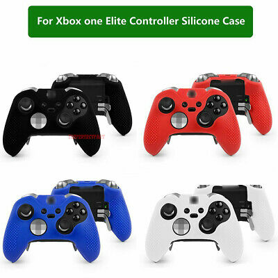 $5.29 • Buy Silicone Case Skin Grip Gel Rubber Cover Protector For Xbox One Elite Controller
