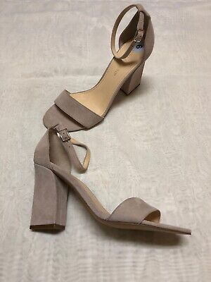 $ CDN34.99 • Buy New IVANKA TRUMP Ketty Women`s Suede Natural Strap Ankle Close Back Shoes Sz 9 M