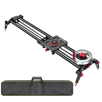 $169.99 • Buy Neewer Camera Slider Video Track Dolly Rail Stabilizer 31-inch/80cm For Filming