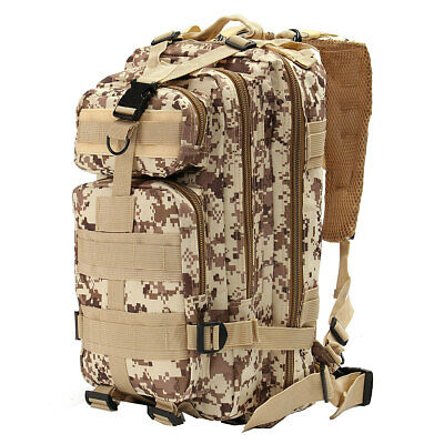 AU18.84 • Buy 35L Hiking Camping Bag Military Tactical Trekking Rucksack Backpack 600D Nylon