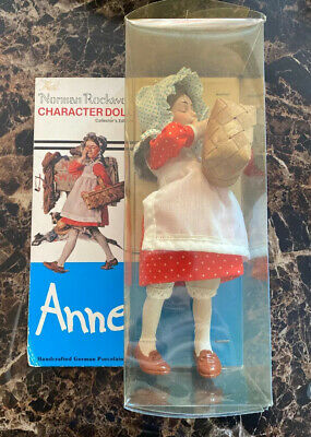 $45 • Buy Norman Rockwell Character Doll, ANNE, Limited Edition, ©1979 New In Box-unopened