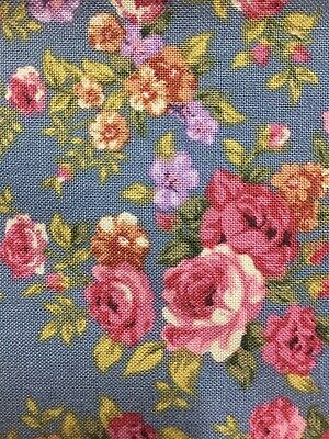 £9.84 • Buy Quality Quilting Fabric 100% Cotton New From The Bolt     Romantic Roses