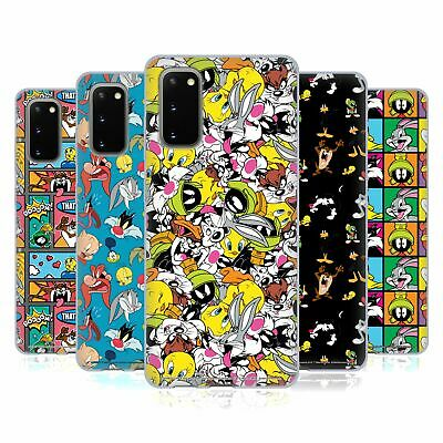 Official Looney Tunes Patterns Soft Gel Case For Samsung Phones 1 • 12.95£