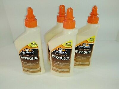 AU11.85 • Buy 4 8 Oz Bottles Elmers Carpenter's Wood Glue (interior) NEW