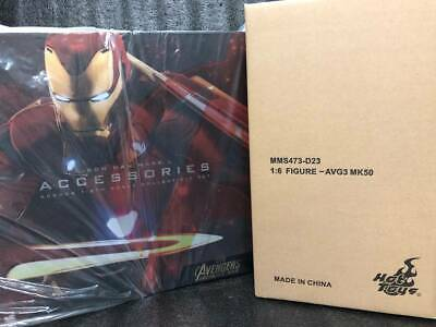 $ CDN1028.67 • Buy Brand New Hottoys 1/6 MMS473D23 ACS004 Ironman Mark 50 With Iron Man Accessories