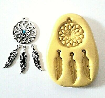 DREAMCATCHER Silicone Mould Cake Decorate Sugarpaste Polymer Clay PMC  • 6.65£