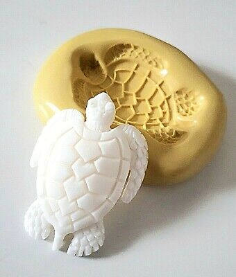TURTLE Silicone Mould 46 Mm FOOD SAFE Polymer Clay Jewellery • 8.90£